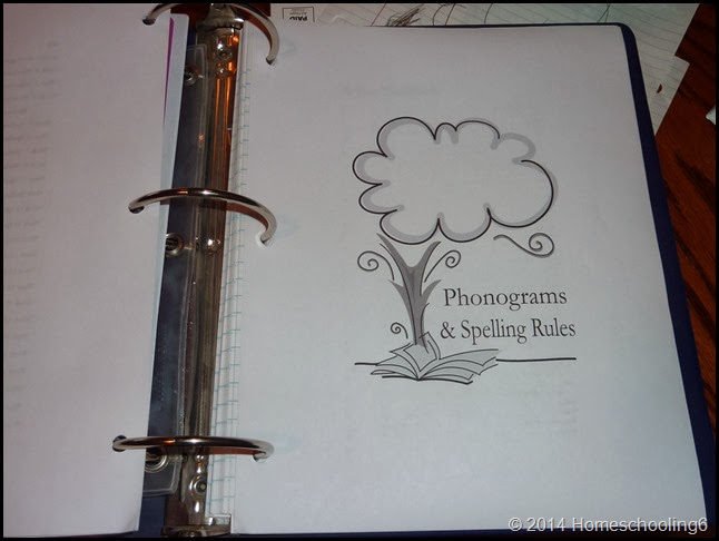 Homeschooling6 Binder