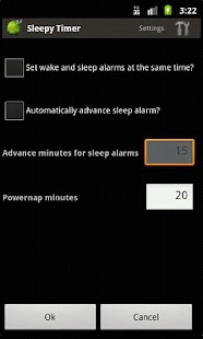 SleepyTimer Bedtime Calculator - screenshot thumbnail