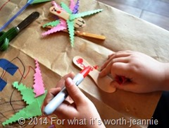 turkey magnet kid craft