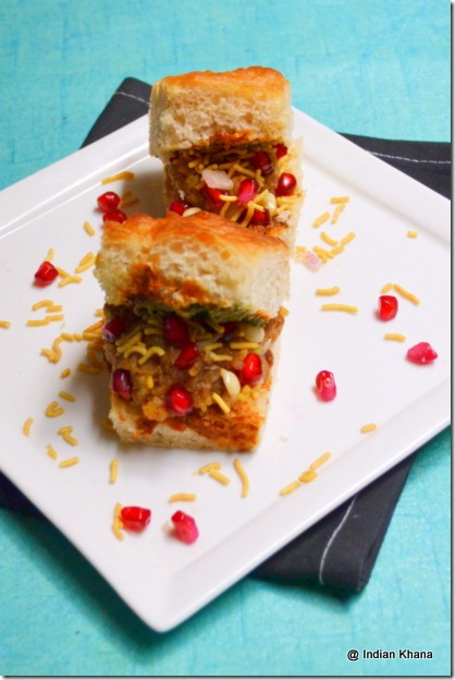 Easy Dabeli Chaat Recipe