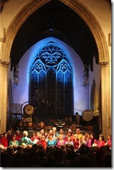 Singing Safari at St Peter's 2013