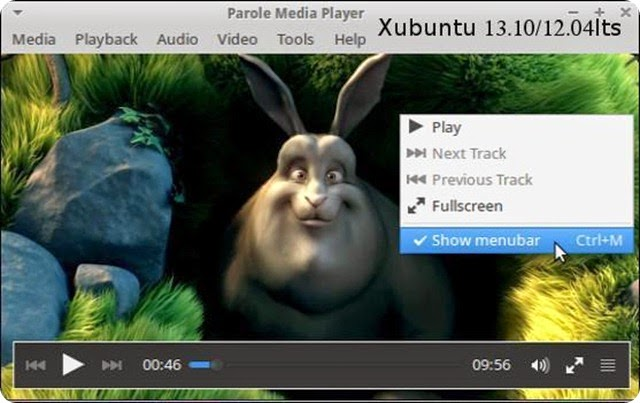 Parole Media Player 0.6.0