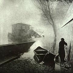 Achille Darnis - La Berge Inondee - 1897