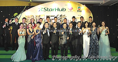 Starhub TVB Awards 2012 Hong Kong actor actress Linda Chung Myolie Wu Tavia Yeung Chen Fala, Selena Li Kate Tsui Astrid Chan Kevin Cheng Sunny Chan Moses Chan Wayne Lai Kenneth Ma Kenny Wong Grasshoppers Bowie Wu Feng Ruco Chan