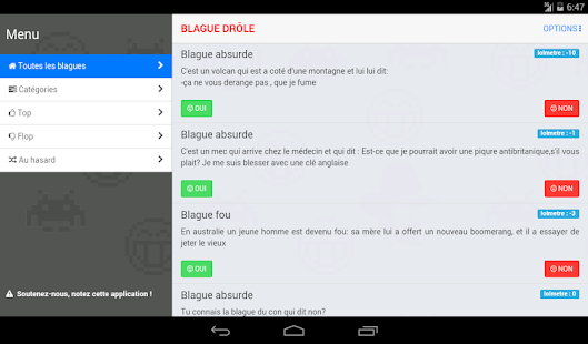 Blague Drôle- screenshot thumbnail