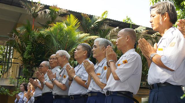 DSC06306 Lễ Hiệp kỵ   Lễ Huý Nhật Cư sĩ Sáng lập viên GĐPT Việt Nam   Tâm Minh Lê Đình Thám