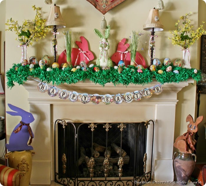 Easter Mantel 10