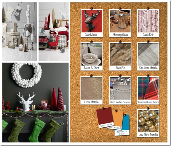 Holiday Inspriation Mood Board