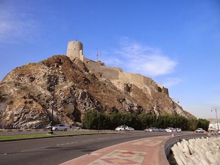 Obiective turistice Oman: Turn portughez in Muscat