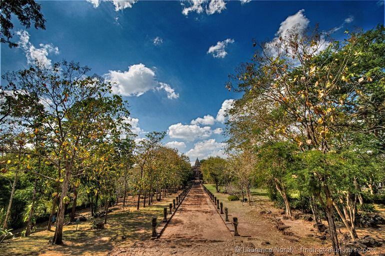 Phanom Rung Entrance walkway Thailand 3