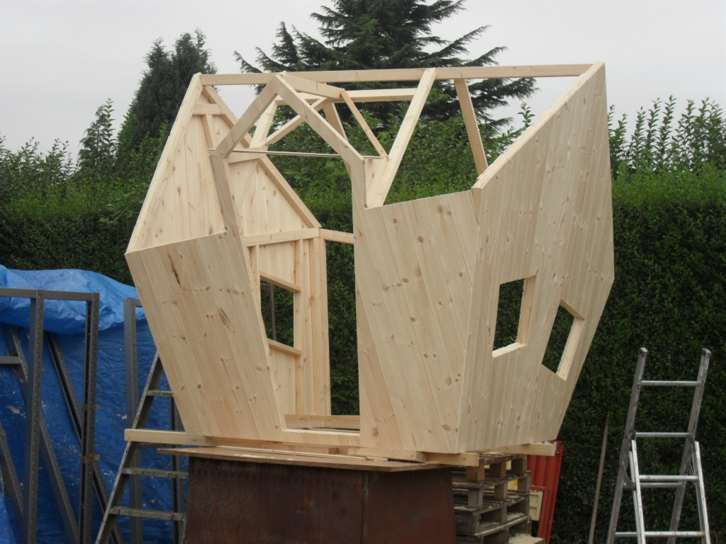 Carpentry wood and tree house