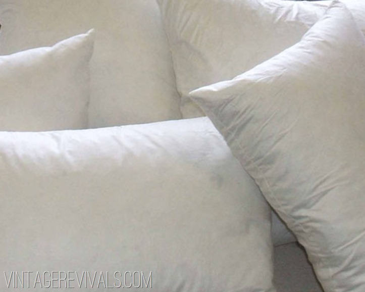 Confessions Of A Pillow Addict My Secret To The World's Cheapest Enchanting Joann Fabric Pillow Inserts