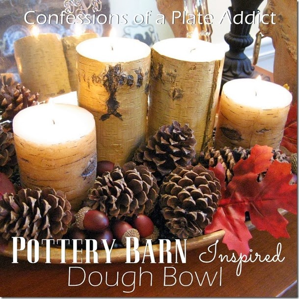CONFESSIONS OF A PLATE ADDICT Pottery Barn Inspired Fall Dough Bowl