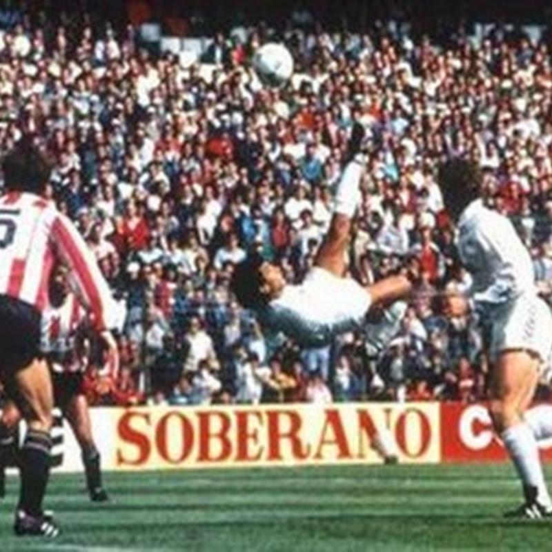 Hugo Sánchez, el acróbata del gol.