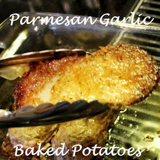 Parmesan Garlic Baked Potatoes.