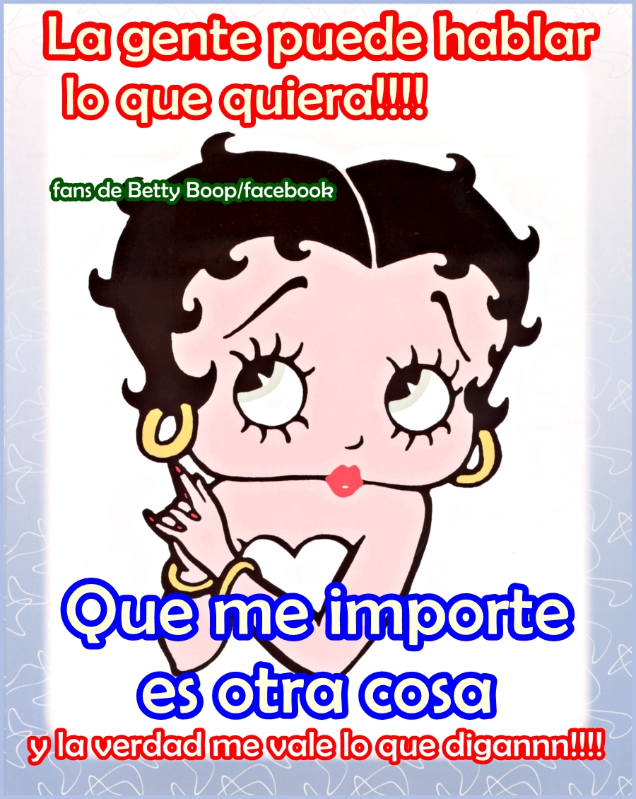 Frases Con Betty Boop 3 Quotes Links