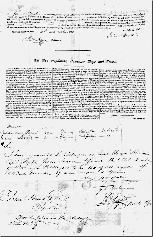 Leppert Passenger List 1836 final