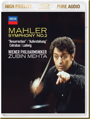 Mahler Mehta Bluray audio
