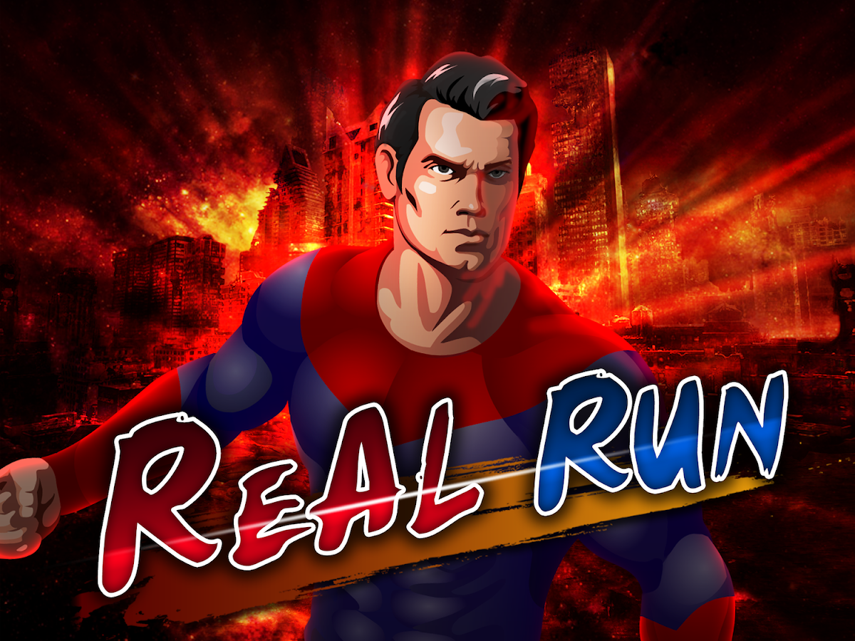 Real Superman Endless Run - screenshot