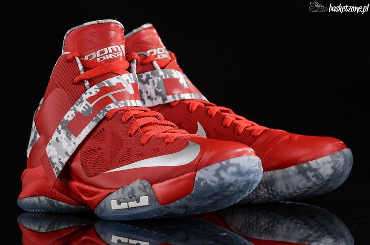 Cheap New Style Nike Zoom Soldier VI 6 USA White University Red
