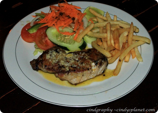 Agus Shipwreck Grilled Tuna Fillet