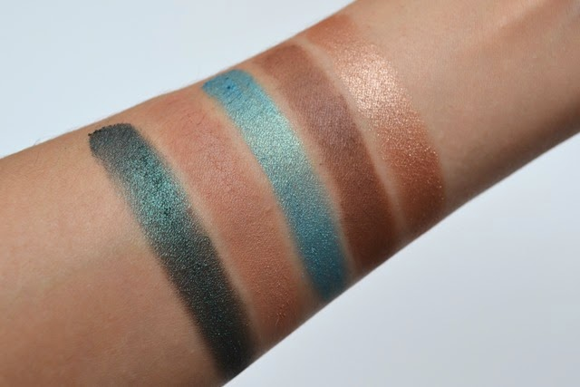 Mary Kay Emerald Noir Swatches