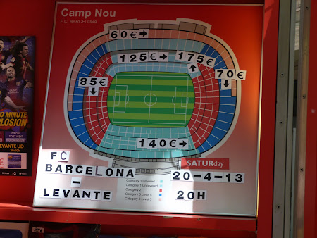 Bilete meci FC Barcelona