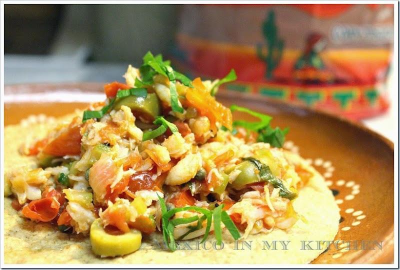 Crab Salpicon   Mexican Recipes