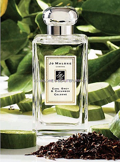 JO MALONE EARL GREY & CUCUMBER TEA COLOGNE FRAGRANCE BLEND SCENT 100ml 30ml spray LIMITED EDITION COLLECTION Assam and Grapefruit, Fresh Mint Leaf, Sweet Lemon Milk Bergamot, cool cucumber sweet Beeswax, vanilla  musk blend