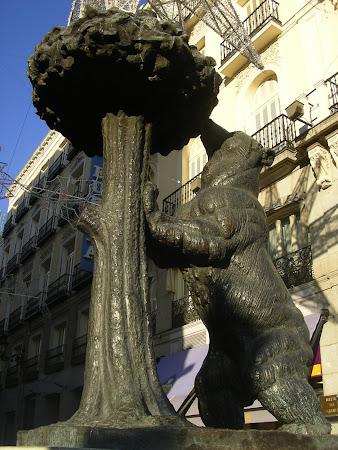 Statui din Madrid