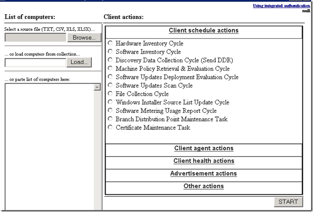 SCCM 2012: One other Great tool to fix client actions without