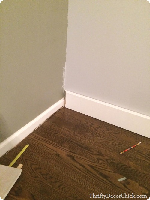 short and tall baseboards