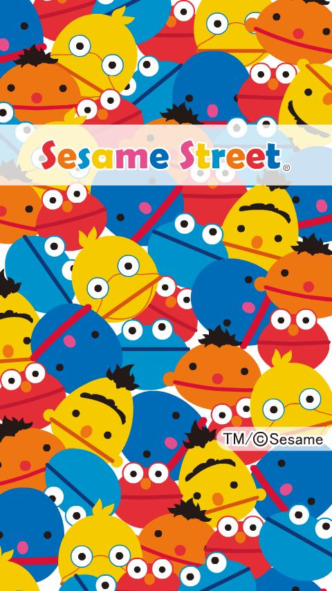 [セサミストリート]ぎゅうぎゅうセサミライブ壁紙のおすすめ画像1