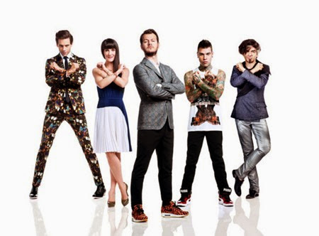 X Factor 8 il cast