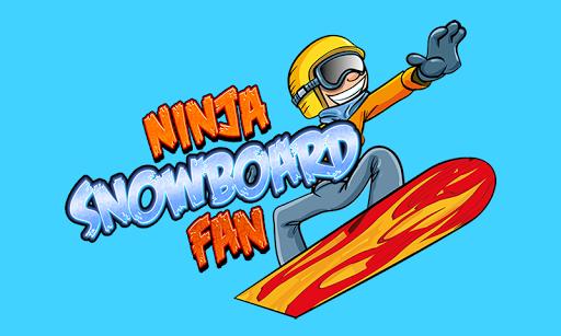 Ninja Snowboard Fan