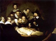 Rembrandt - anatomy lesson dr Tulp
