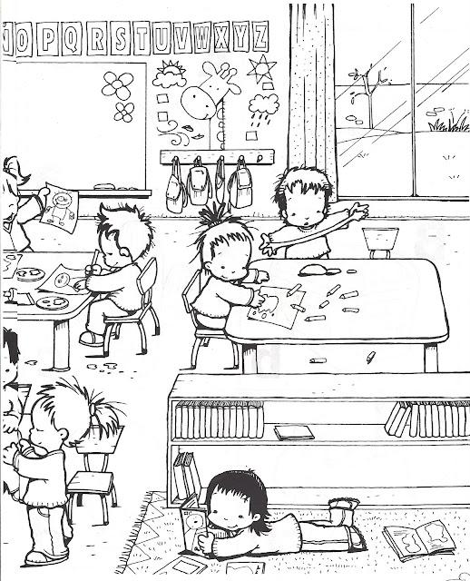 Dibujos De Estudio Colorear Dibujos De La Escuela