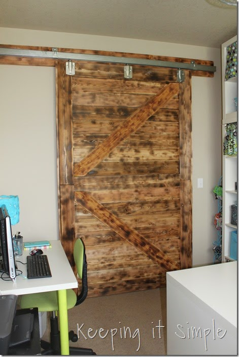 DIY-Large-Barn-Door-with-Burned-Wood-Finish (44)