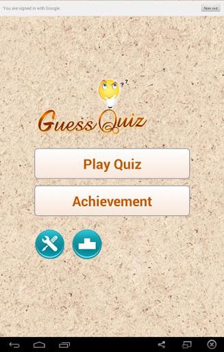 Guess Image Quiz