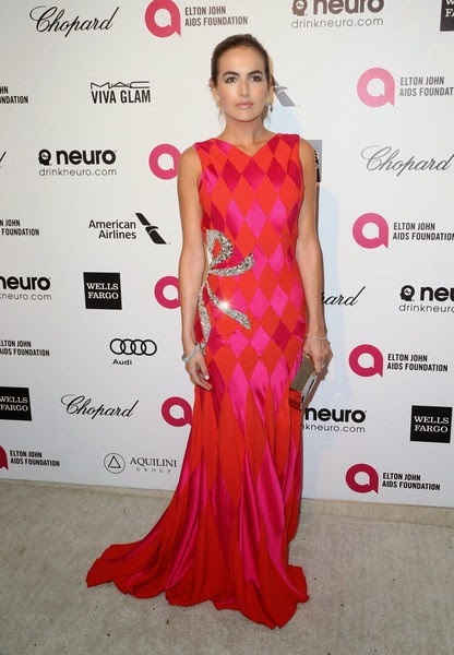 Camilla Belle attends the 23rd Annual Elton John AIDS Foundation