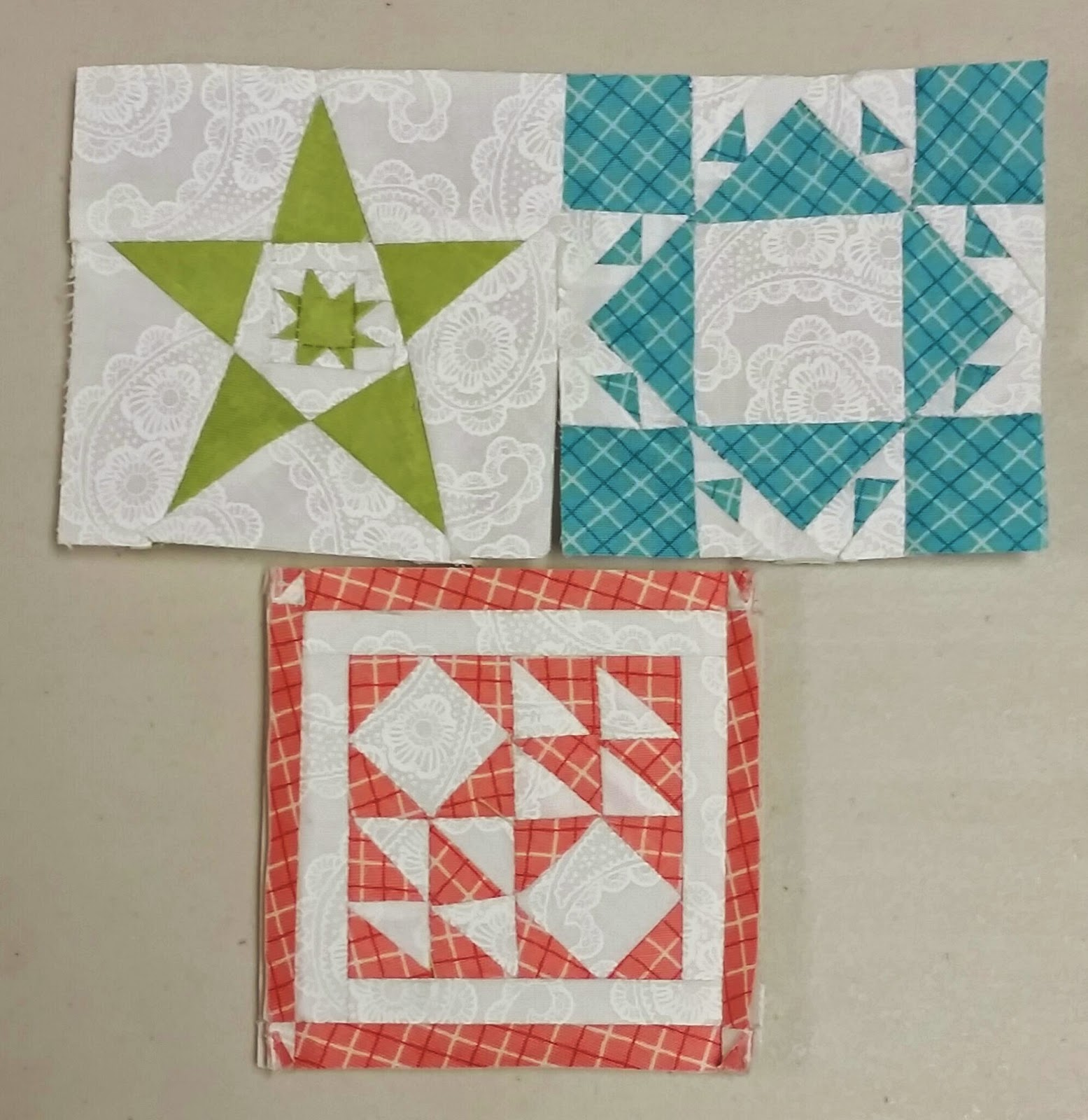 A Quilting Chick Progress On Quilters Garden Swap