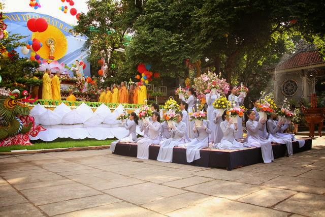 IMG 1849 Đại lễ Phật đản PL 2557 tại Tu viện Quảng Hương Già Lam