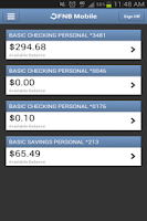 Screenshot of FNBOTN Mobile