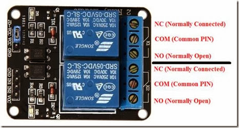 My Howtos and Projects: Sainsmart 2-Channel 5V Relay