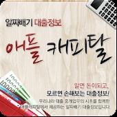 알짜배기 대출정보 애플캐피탈