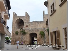 Den gamle by i Alcudia