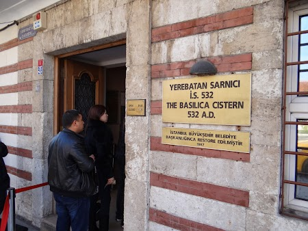 Intrare Cistern Basilica