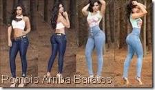 Pompìs Arriba  2017 corte colombiano pantalones  de mezclilla de moda en Guadalajara Venta de pantalones baratos en Guadalajra