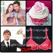 CUP- 4 Pics 1 Word Answers 3 Letters