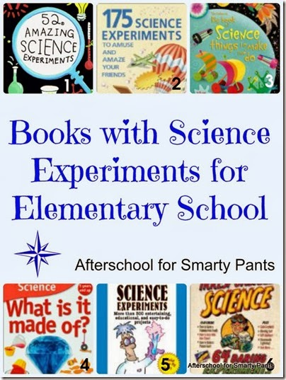 Science Experiments Books for Elementary School Students